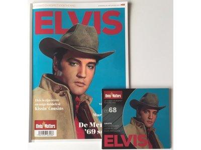 Magazine With CD - ELVIS 68