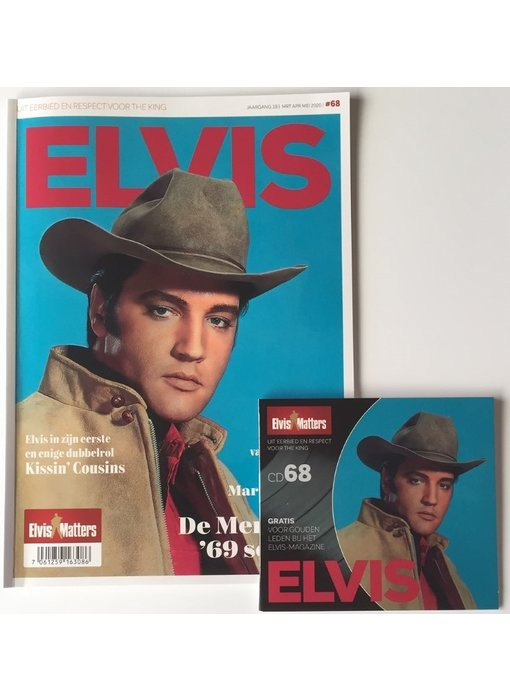 Magazine Met CD - ELVIS 68