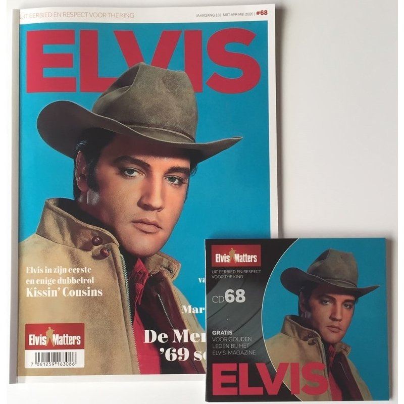 Magazine With CD - ELVIS 68