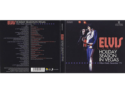 FTD - Elvis : Holiday Season In Vegas - Hilton Hotel '75 - 2 CD Set