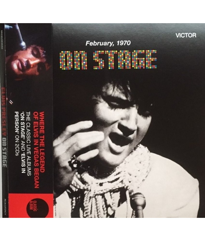 Elvis On Stage - Legacy Edition