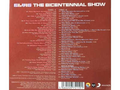 FTD - Elvis : The Bicentennial Show