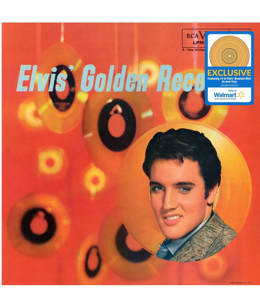Elvis Presley - Elvis Golden Records Vol 1 - Walmart Exclusiv Release On Gold Colored Vinyl