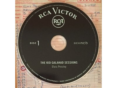 Elvis: The Kid Galahad Sessions - FTD 2-CD Set