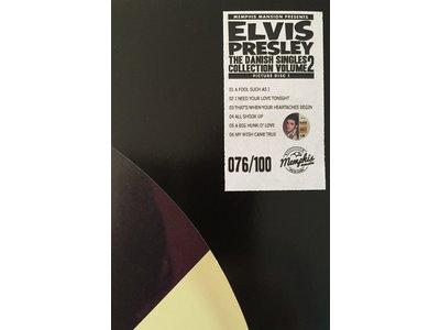 Elvis Presley - The Danish Singles Collection Volume Two - Picture Disc Blue Vinyl Memphis Mansion Label