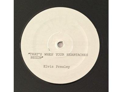 Elvis Presley - My Happiness Black Vinyl Replica Acetate