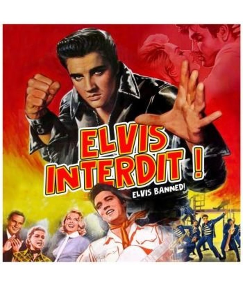 Elvis Interdit! Splatter Colored Vinyl RSD 2020 VPI Label