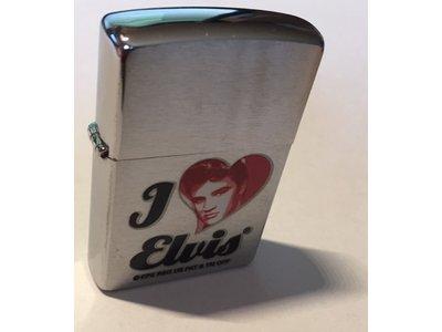 Lighter - Zippo - I Love Elvis