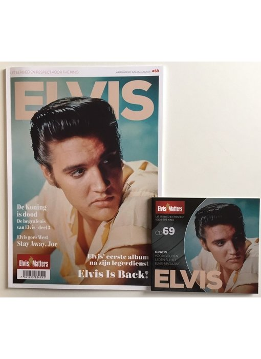 Magazine Met CD - ELVIS 69