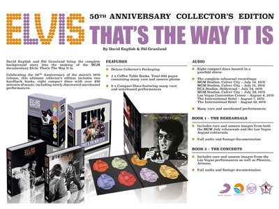 Elvis - That's The Way It Is - 50 th Anniversary Collector's Edition - FTD Boek