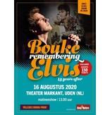 Bouke Remembering Elvis - Theater Markant Uden 16 Augustus 2020 Matineeshow