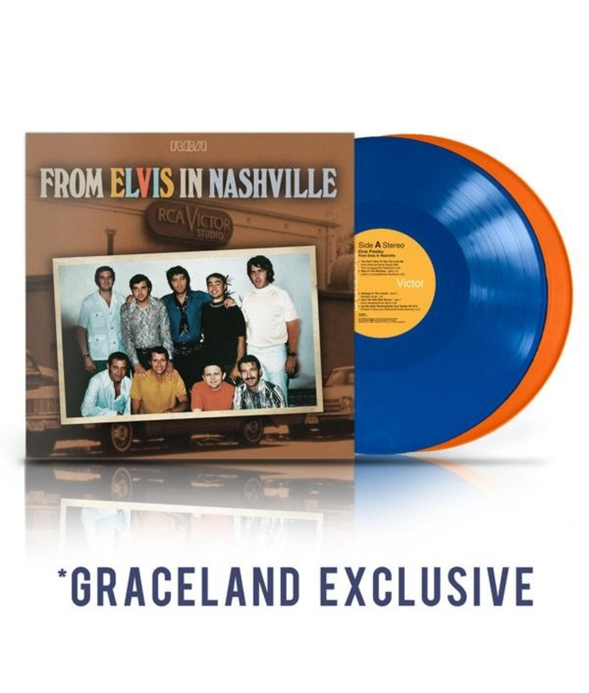 From Elvis In Nashville - 2 LP Colored Vinyl-Set Graceland Exclusive Release