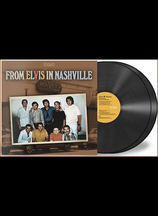 From Elvis In Nashville - 2 LP Black Vinyl Set