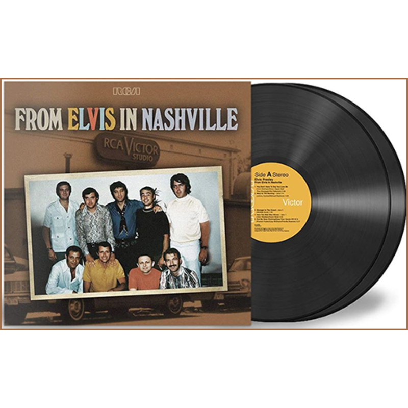 From Elvis In Nashville - 2 LP Black Vinyl-Set