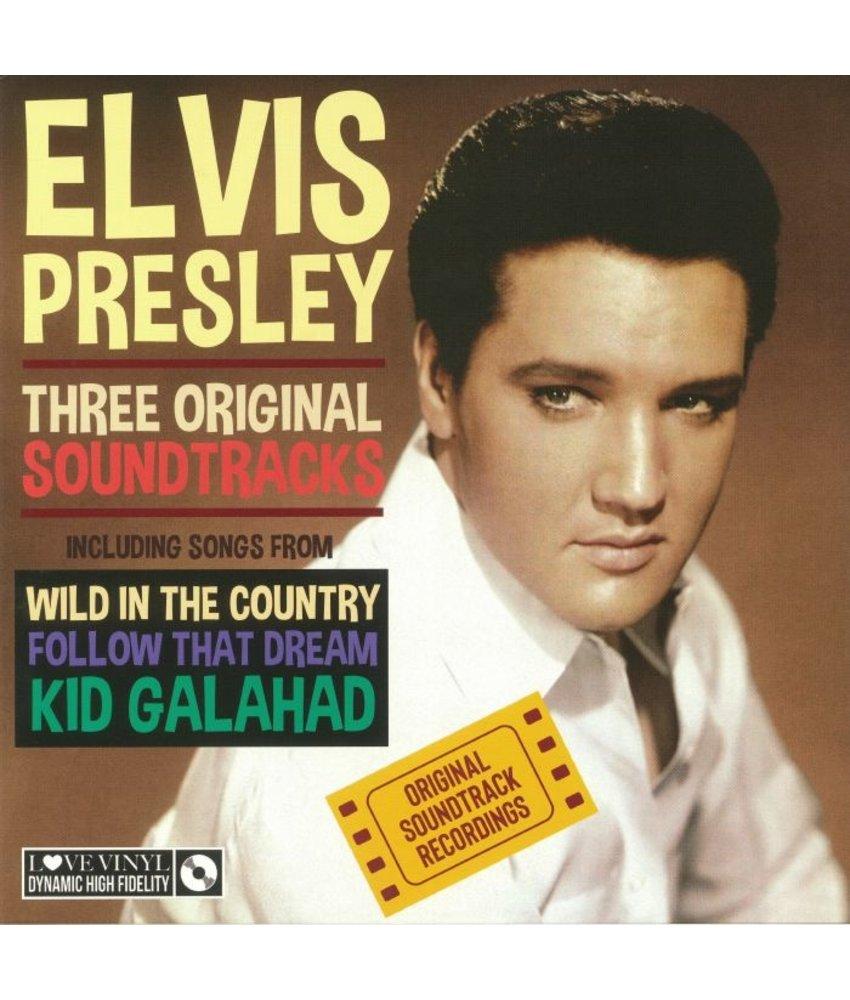 Elvis Presley Three Original Soundtracks  Black Vinyl - 33 RPM Vinyl My Generation Music Label