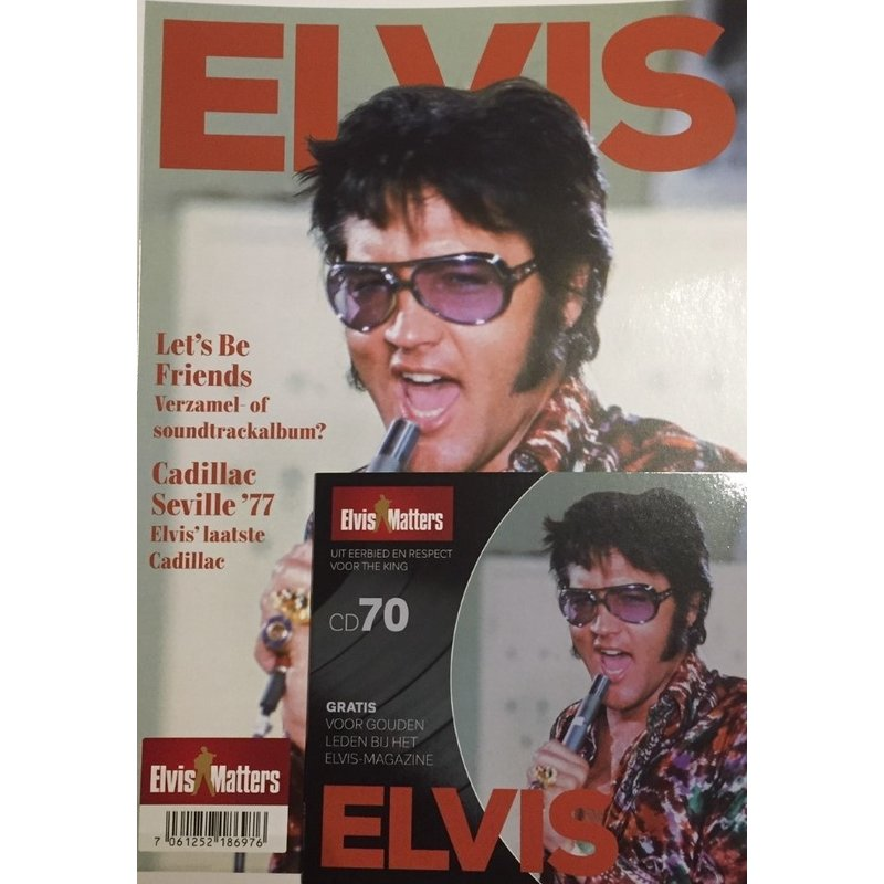 Magazine Met CD - ELVIS 70