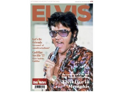 Magazine With CD - ELVIS 70