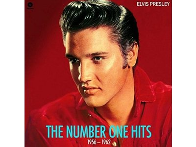 Elvis Presley The Number One Hits 1956-1962 - 33 RPM Vinyl Wax Time Label