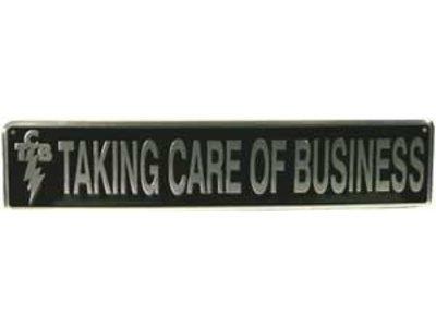 Straatnaambord Elvis' Taking Care Of Business