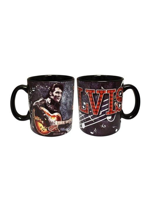 Mug Elvis Black Leather Suit