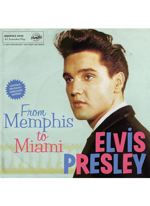 Elvis Presley - From Memphis To Miami - Clear Vinyl EP Memphis Mansion Label
