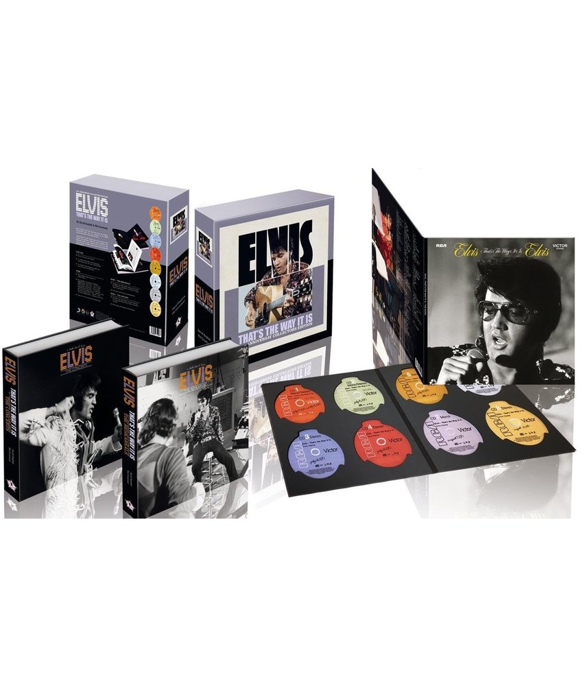 Elvis - That's The Way It Is - FTD Boek 8 CD Set - 50 th Anniversary Collector's Edition