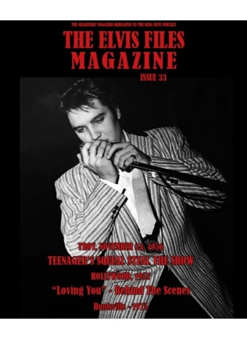 Elvis Files Magazine - No. 33