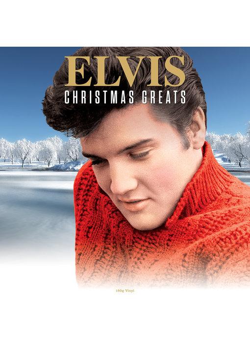 Elvis Christmas Greats - 33 RPM Vinyl Not Now Music Label