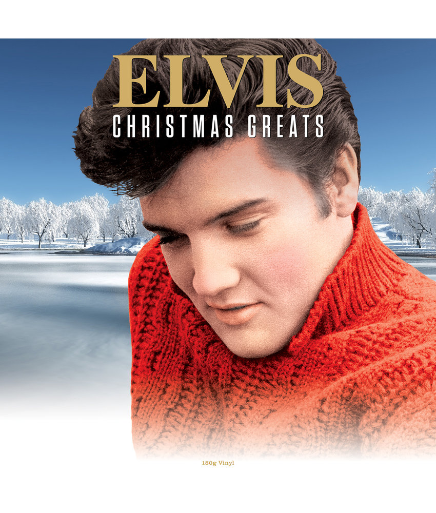 Elvis Christmas Greats - 33 RPM Vinyl Not Now Music Label
