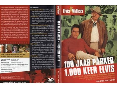 100 years of Parker, 1,000 times Elvis - DVD