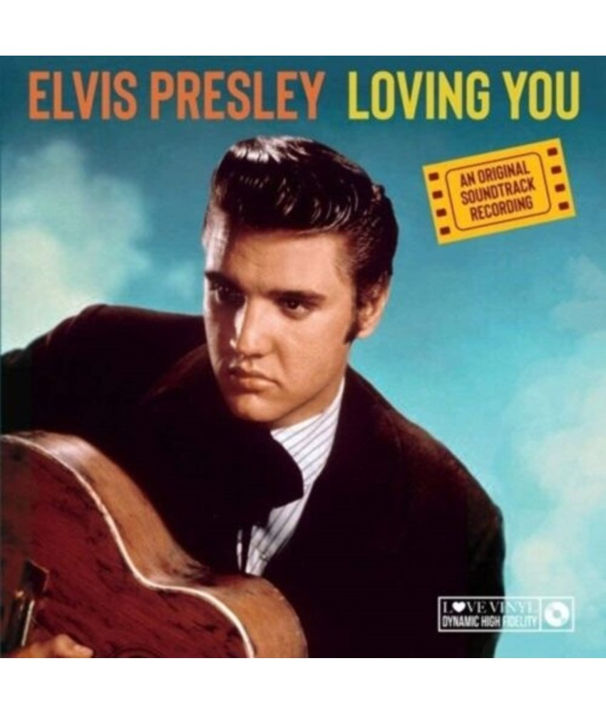 Elvis Presley Loving You  Black Vinyl - 33 RPM Vinyl My Generation Music Label