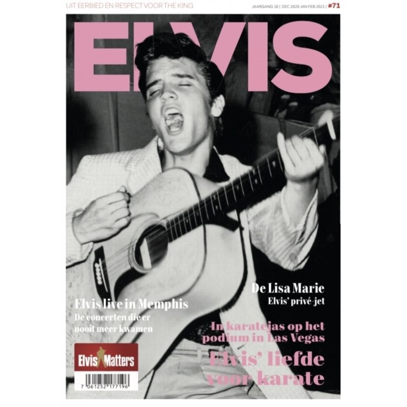 Magazine - ELVIS 71
