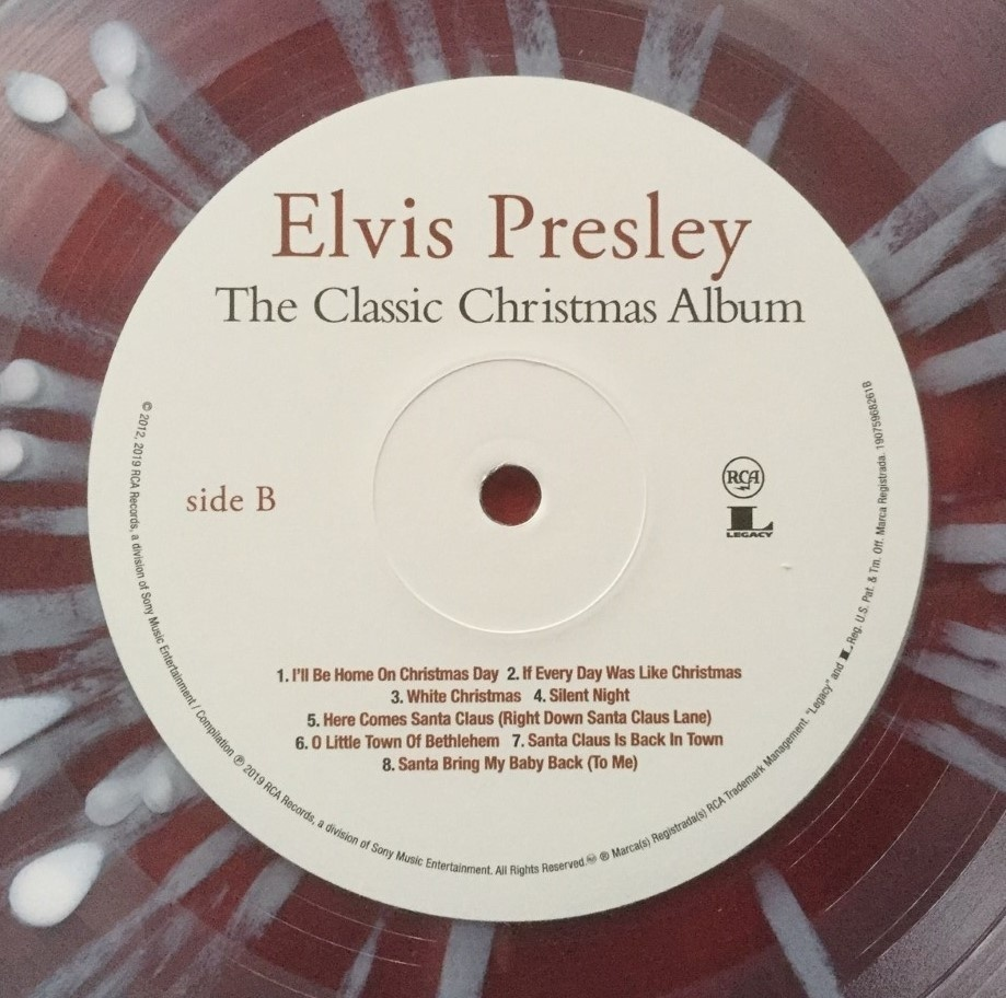 Elvis Presley The Classic Christmas Album On Snowflake Vinyl Shopelvismatters
