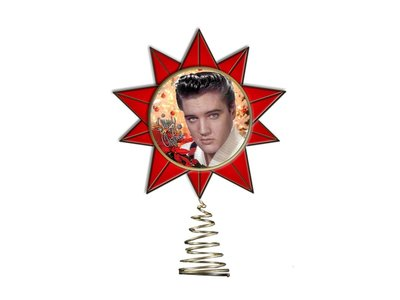 Christmas With Elvis Tree Topper Graceland Exclusive