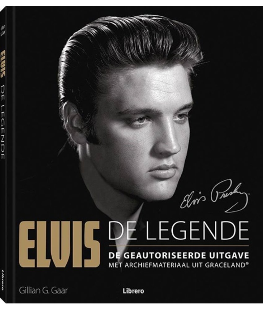 Elvis De Legende - Dutch Book With Archival Material From Graceland
