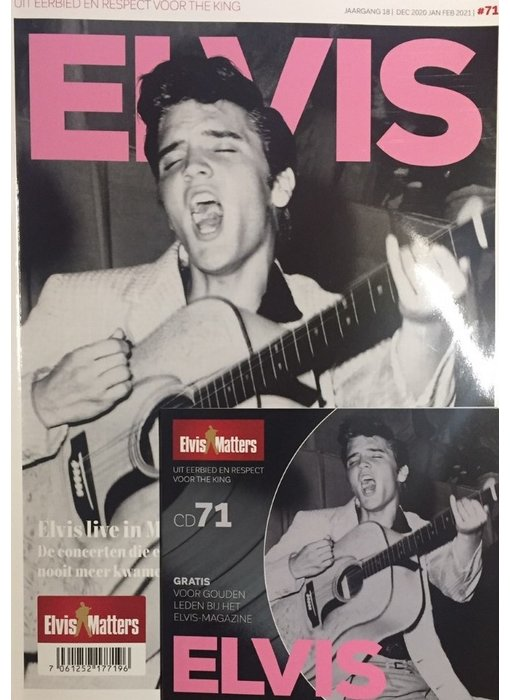 Magazine Met CD - ELVIS 71