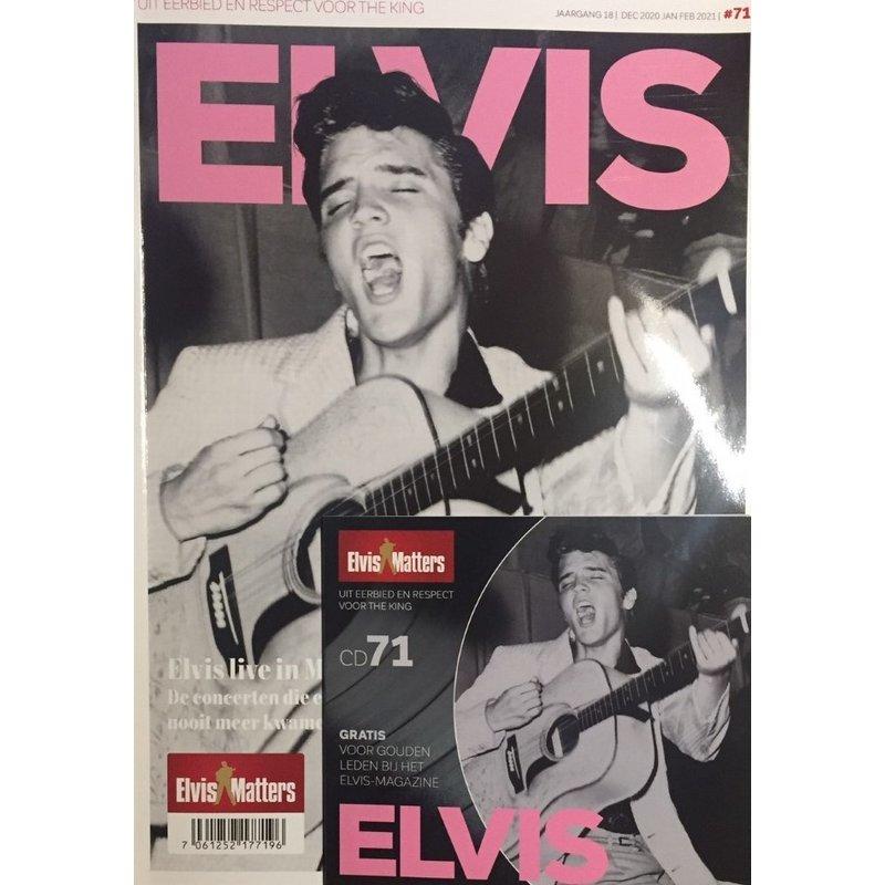 Magazine Met CD - ELVIS 71