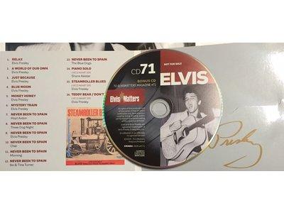 Magazine With CD - ELVIS 71