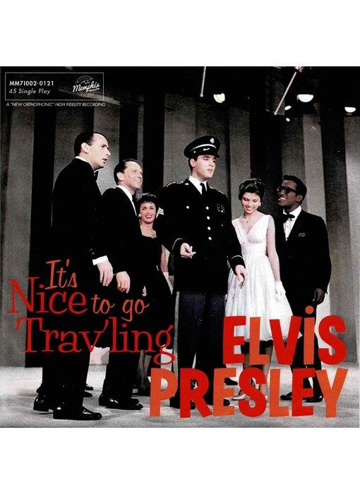 Elvis Presley - It's Nice To Go Trav'ling - Black Vinyl Single Memphis Mansion Label