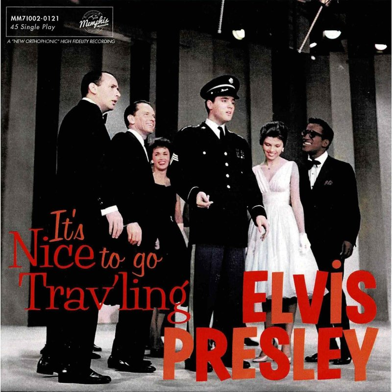 Elvis Presley - It's Nice To Go Trav'ling - Black Vinyl Single Memphis Mansion Label