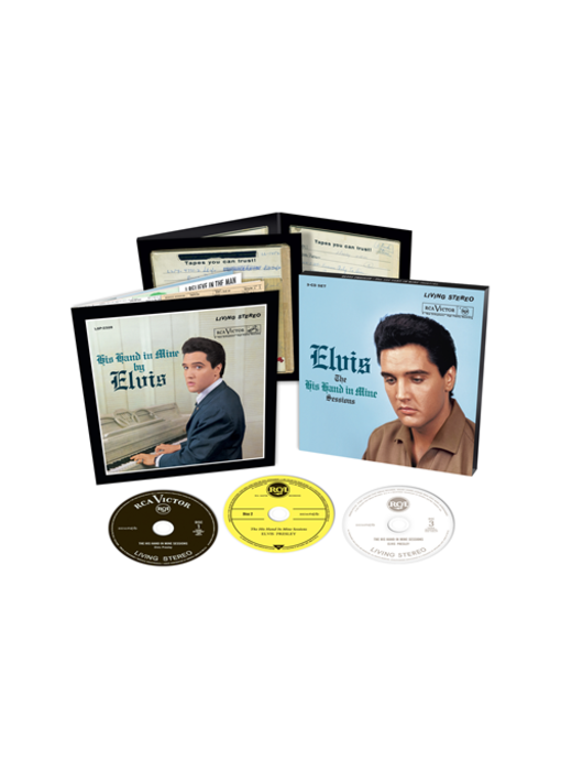 Elvis: The His Hand In Mine Sessions - FTD 3-CD-set