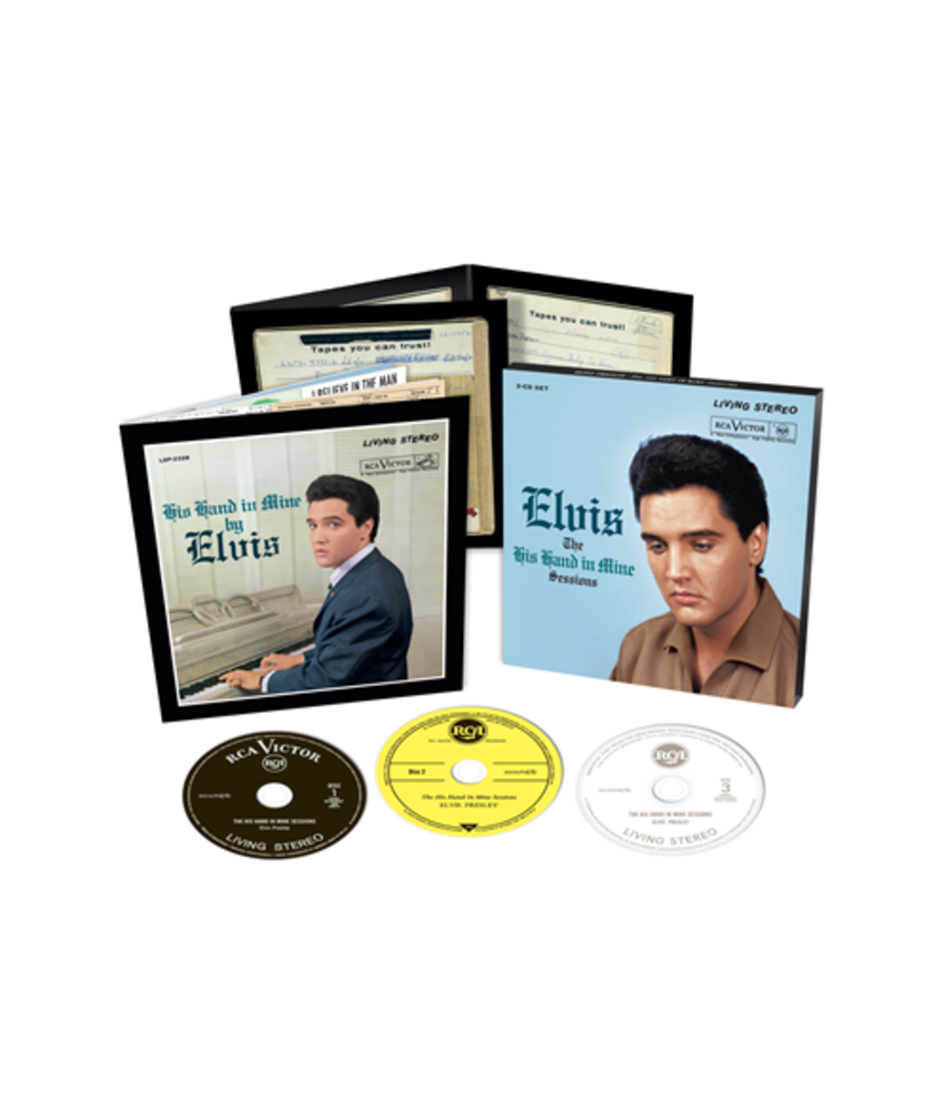 Elvis: The His Hand In Mine Sessions - FTD 3 CD Set