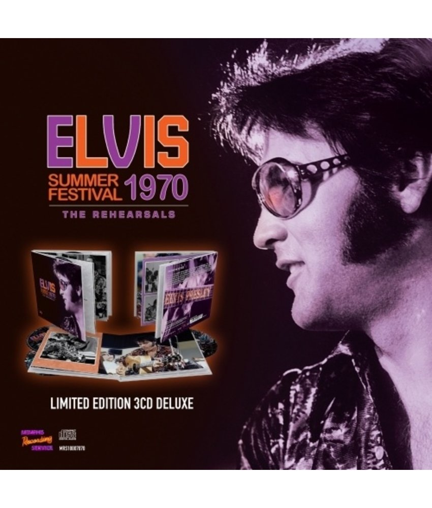 MRS - Elvis Summer Festival 1970 The Rehearsals Limited Edition 3 CD-Set