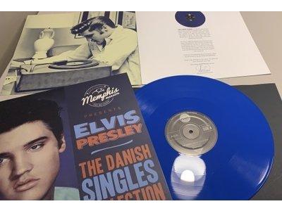 Elvis Presley - The Danish Singles Collection Volume Three - Blue Vinyl Memphis Mansion Label