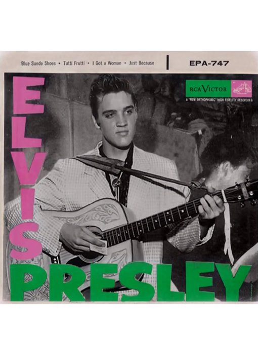 The First EP Of Elvis Presley Around The World