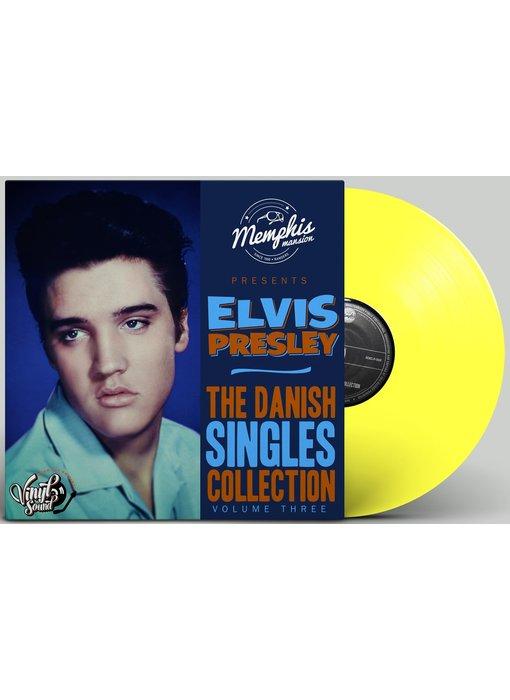 Elvis Presley - The Danish Singles Collection Volume Three - Yellow Vinyl Memphis Mansion Label
