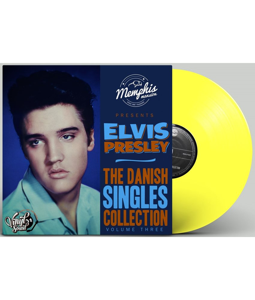 Elvis Presley - The Danish Singles Collection Volume Three - Yellow Vinyl Memphis Mansion Label