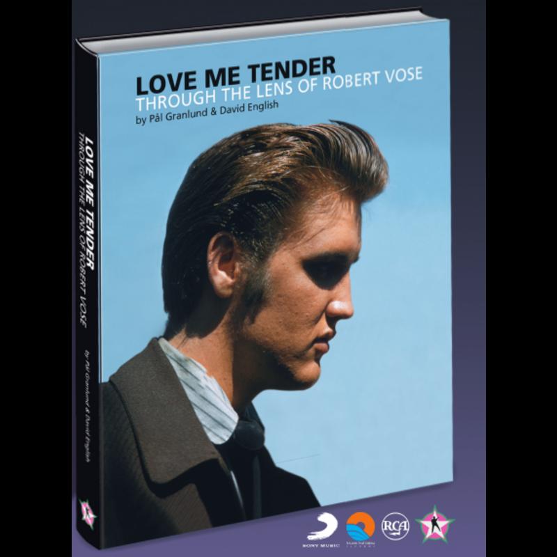 Elvis Presley - Love Me Tender Through The Lens Of Robert Vose - FTD Boek