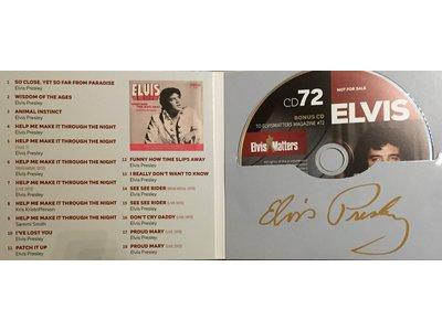 Magazine Met CD - ELVIS 72