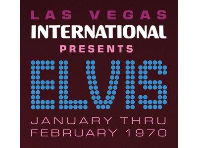 MRS - Las Vegas International Presents Elvis January Thru February 1970 - 2 LP Black Vinyl Gatefold Set